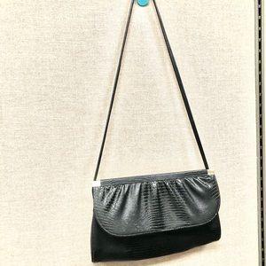 Vintage patent leather shoulder purse